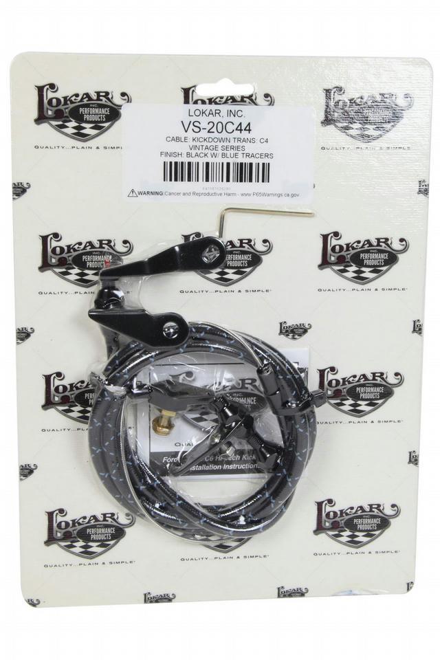 Vintage Series Kickdown Cable Kit Ford C4