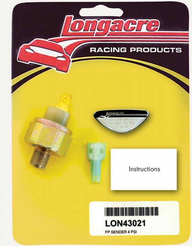 Fuel Pressure Sender 1/8in NPT 4psi