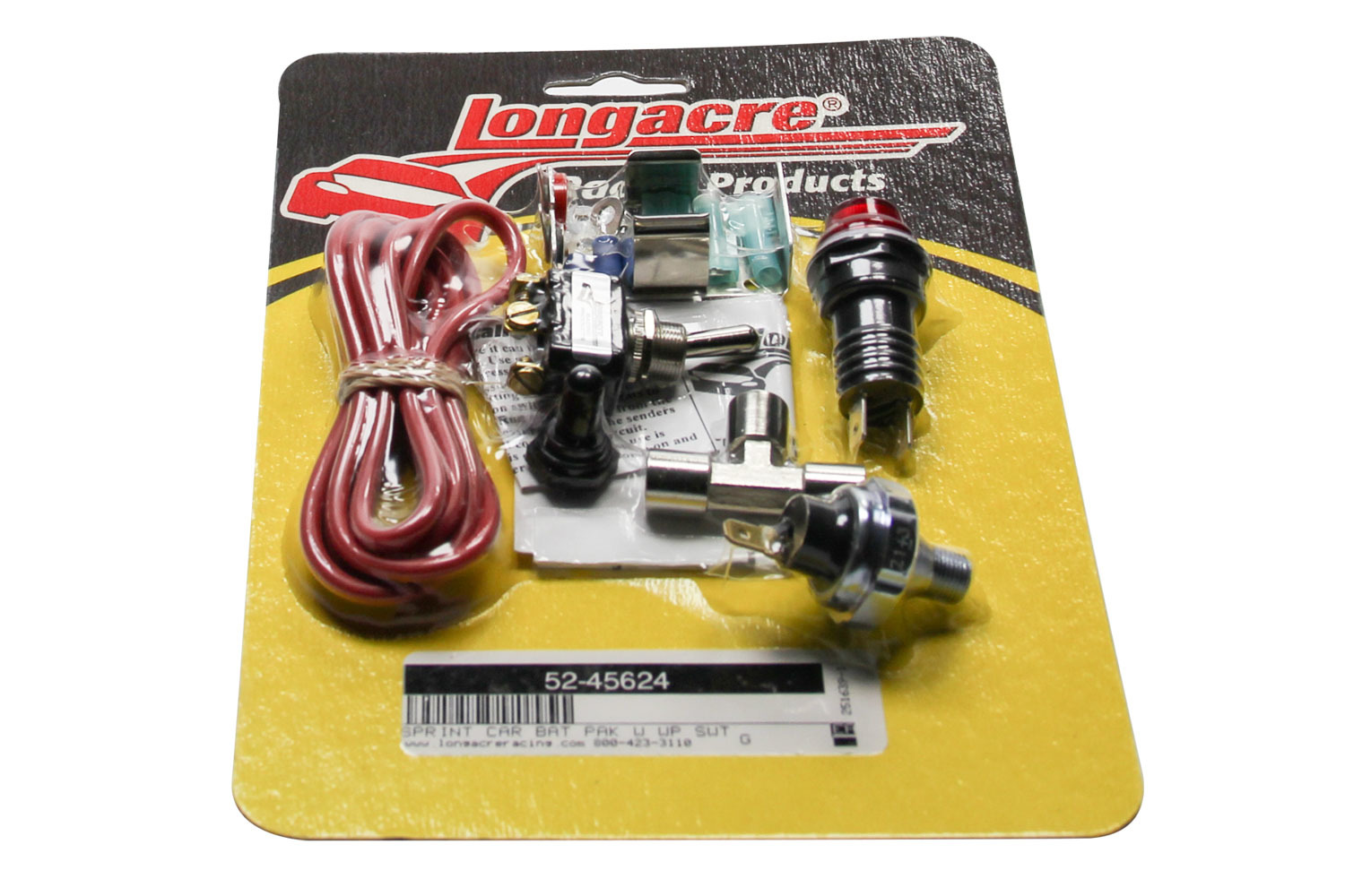 Battery Pack For Sprint Car Weatherproof Switch
