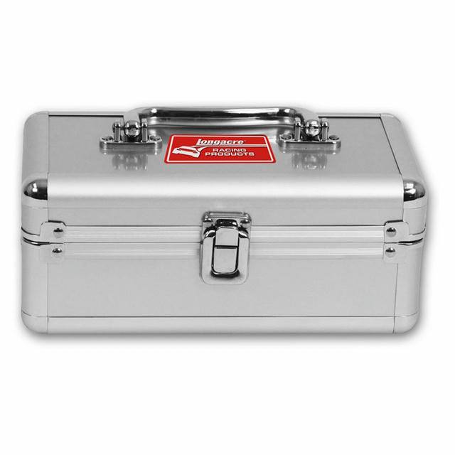 Case Silver 8.25 x 4.125 x 3.125