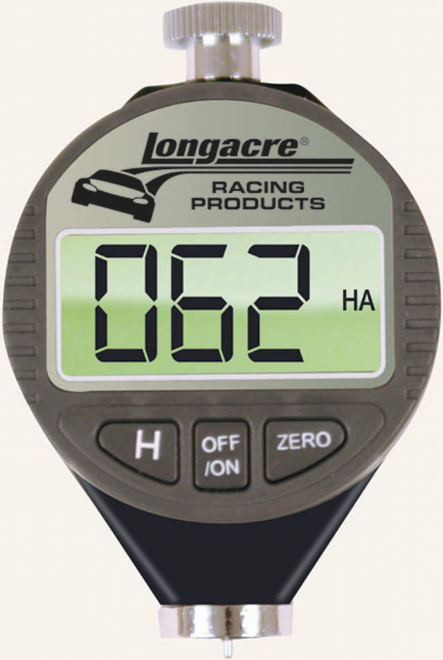 Digital Durometer with Silver Case