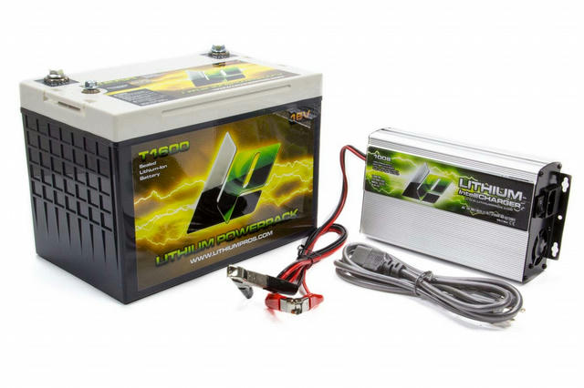 Lithium-Ion Power Pack and Charger Kit