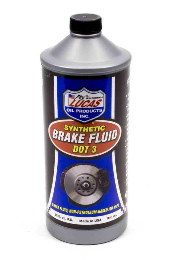 Brake Fluid Dot 3 1 Qt
