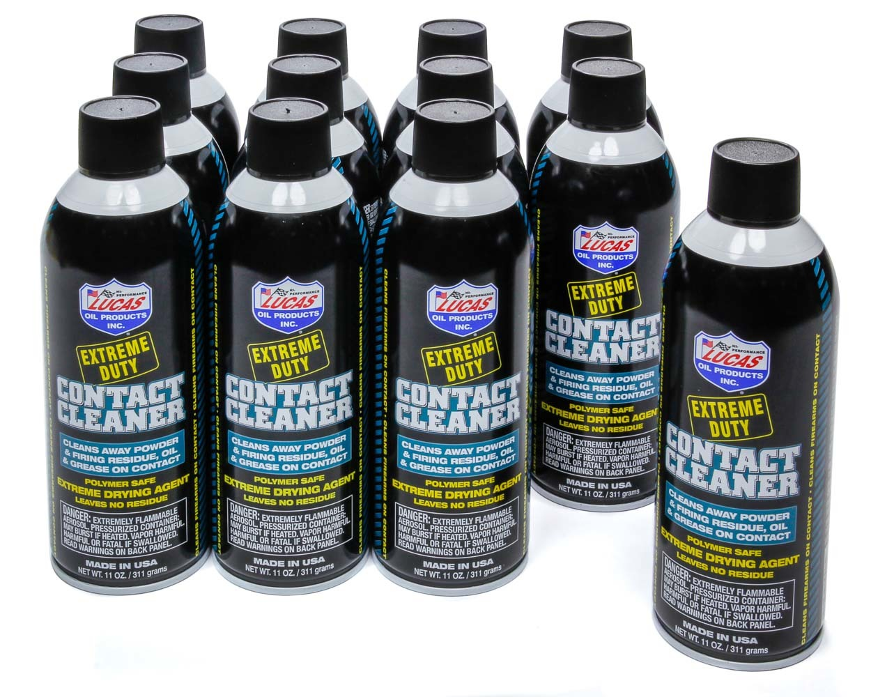 Extreme Duty Contact Cle aner Case 12 x 11 Ounce