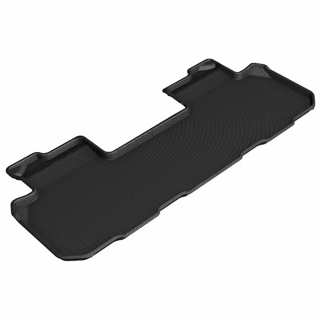 Chevy Traverse 18-  Kagu Floor Liners 2nd Row Blk