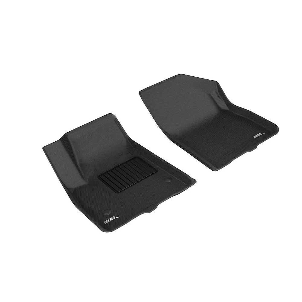 GMC Acadia 17-   Kagu Fl oor Liner 1st Row Black