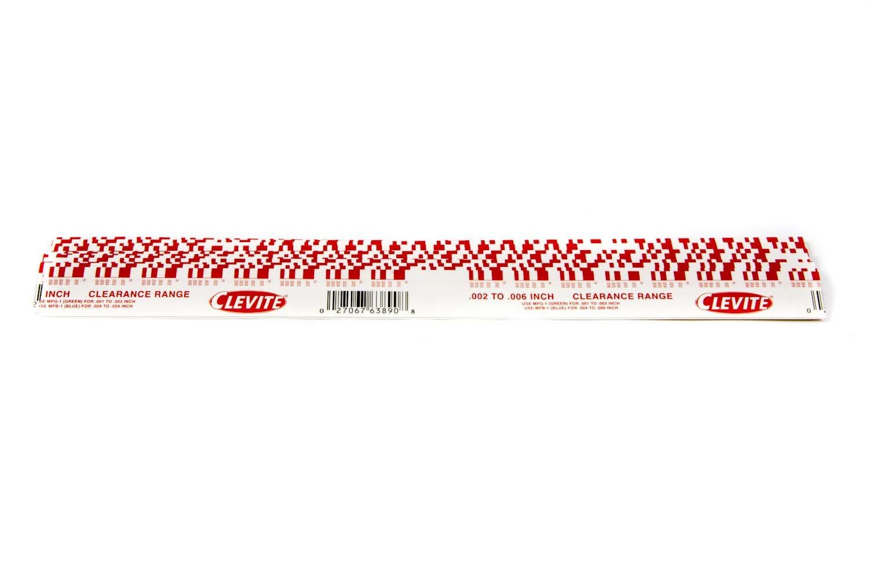 Plastigage - Red .002in- .006in