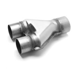 2.5in To 3in Y-Pipe S.S.