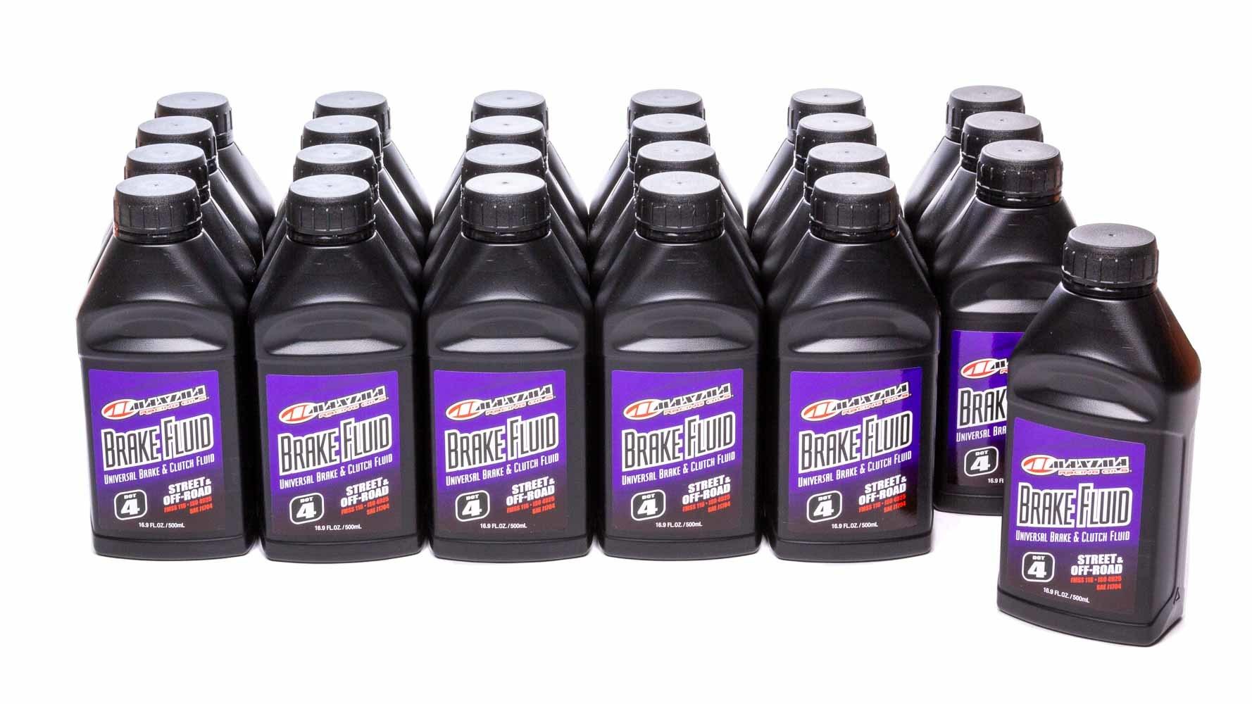 Brake Fluid Dot 4 Case 24 x 16.9oz. Bottle