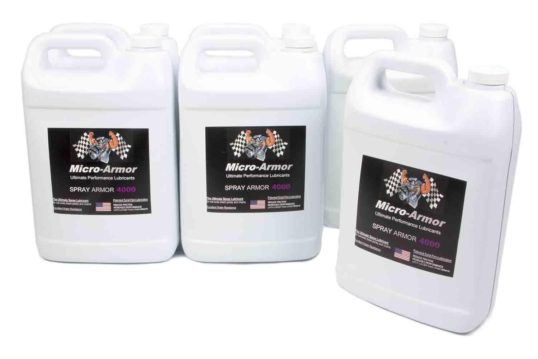 4000 Spray Lubricant Case 6x1 Gal