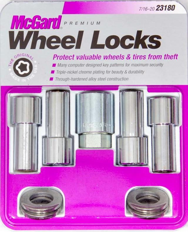 WHEEL LOCK 7/16 X-LONG SHANK (4)