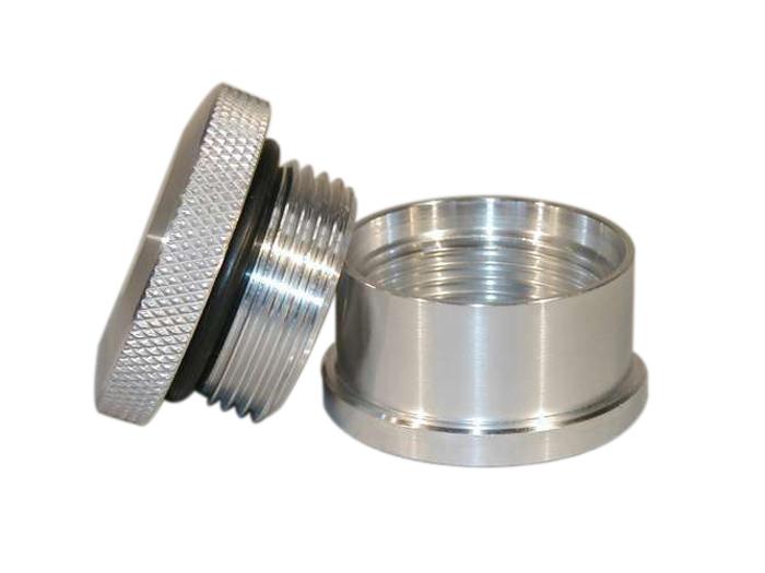 1.75 Alum.Cap & Steel Bung Assembly