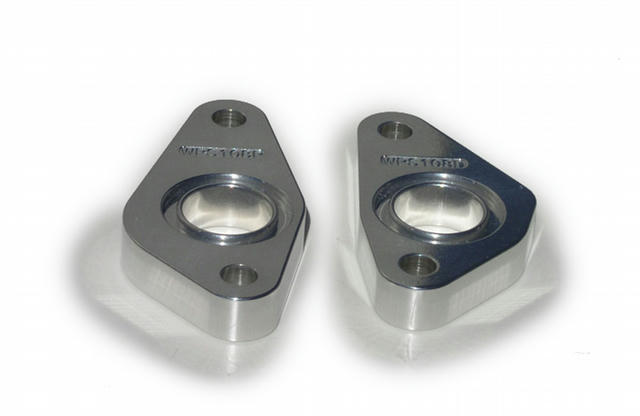 Water Pump Spacers 2pk BBF .500 Thick Polished