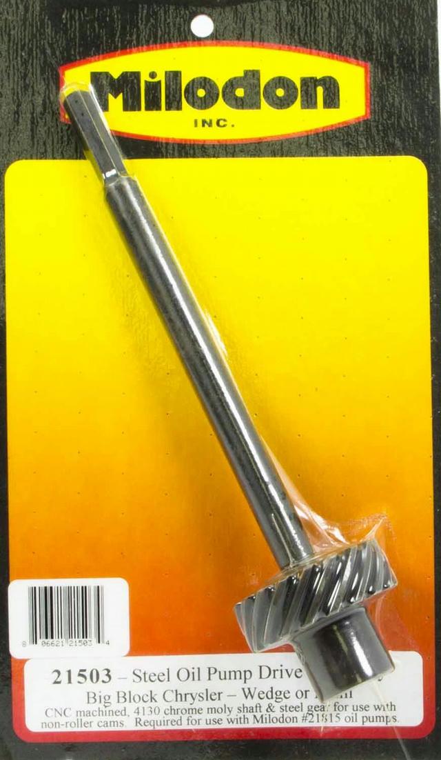 BBM Steel Oil Pump Drive Gear