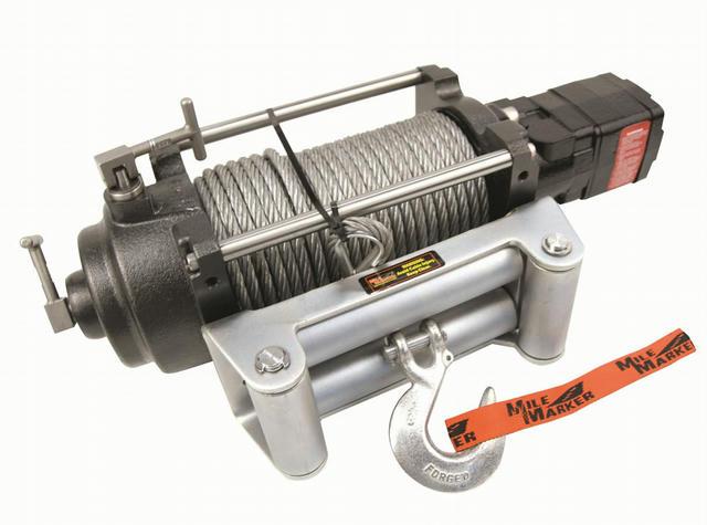 H Series Hydraulic Winch 12000 lb. Capacity  2 S