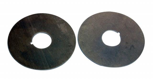 Belt Guide-3.5in Dia. w/ 1/8in Keyway & 1in Hole