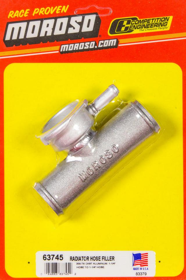 Radiator Hose Filler 1.25in Hose To 1.25in Ho