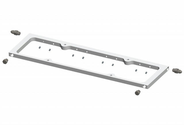 SBC Valve Cover Spacers w/Spring Oiling Rails