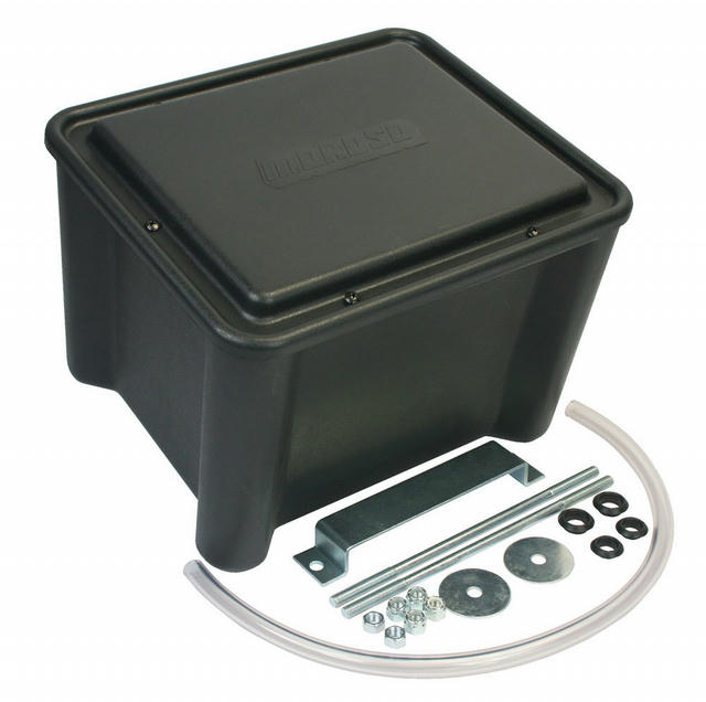 Sealed Battery Box - Black