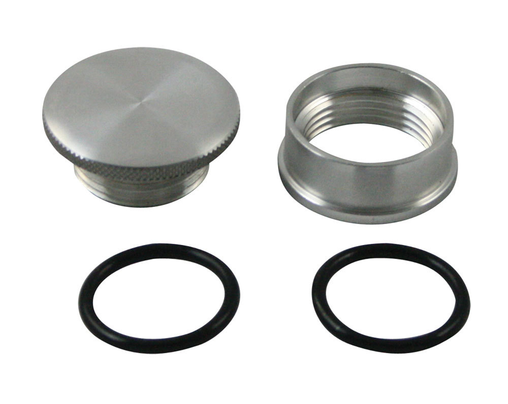 Aluminum Weld-In Filler Bung & Cap
