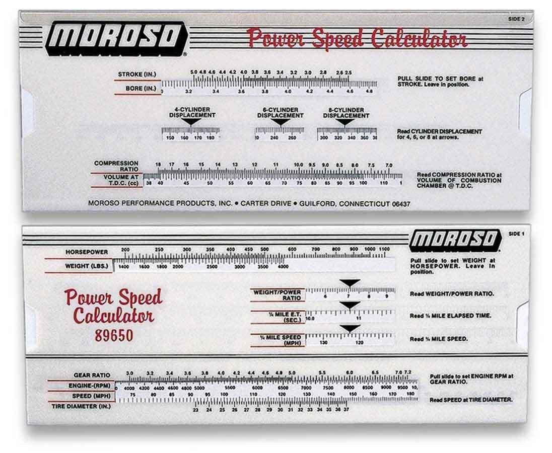 Power/Speed Calculator
