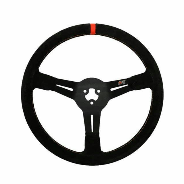 13.75 3-Bolt LW Aluminum Wheel Suede Grip