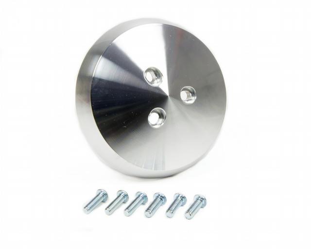 A/C Compressor Clutch Cover Clear Powder coat