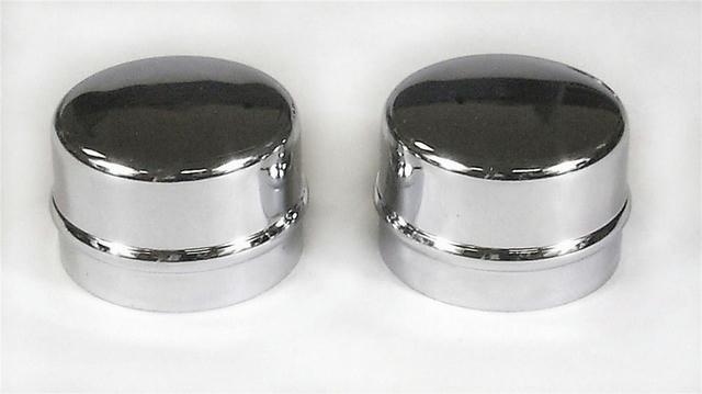 Chrome Dust Caps