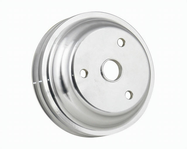 SBC Aluminum Pulley Double Groove Lwp