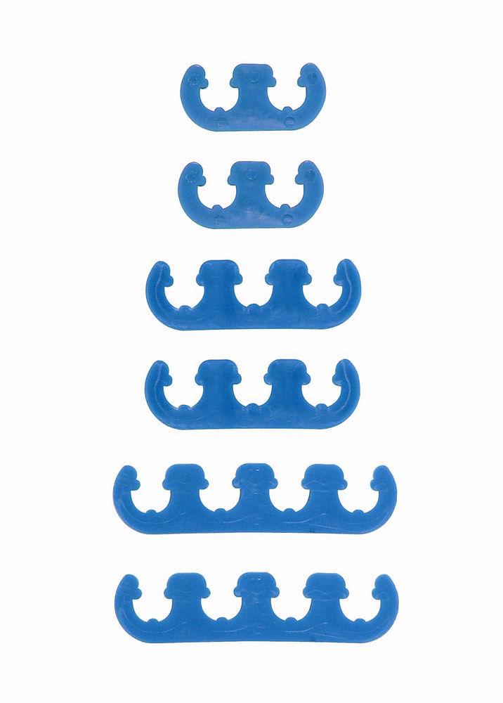 Wire Separator Blue Plastic