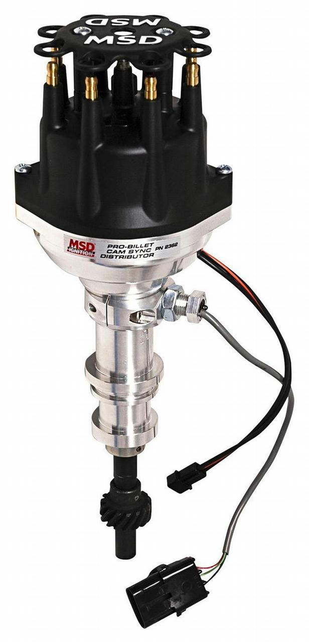 SBF Distributor - Cam Sync w/Steel Gear
