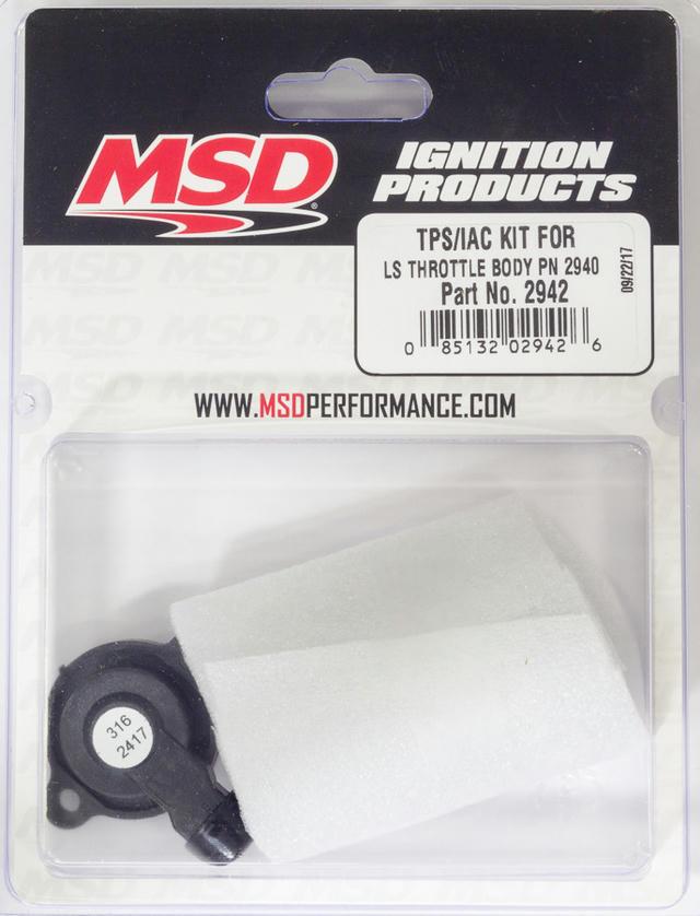 TPS/IAC Kit for LS Throttle Body PN 2940