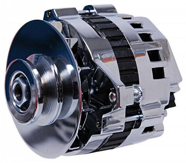 DynaForce Alternator - 160 Amp - Chrome