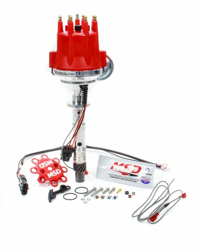 RTR Distributor - Chevy 348/409 w/Vacuum Advance