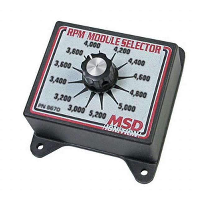 3000-5200 RPM Module Selector
