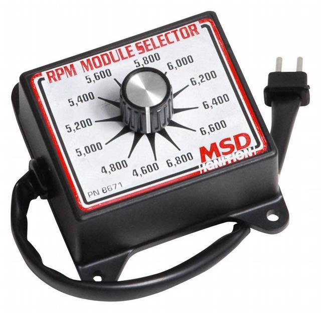 4600-6800 RPM Module Selector