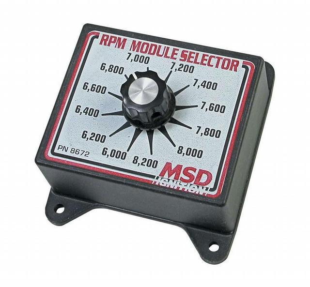6000-8200 RPM Module Selector