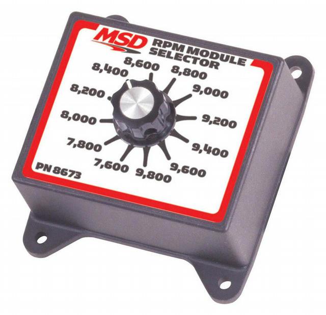 7600-9800 RPM Module Selector