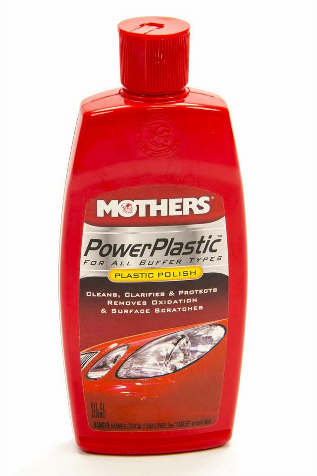 Power Plastic Cleaner/ Polish 8oz