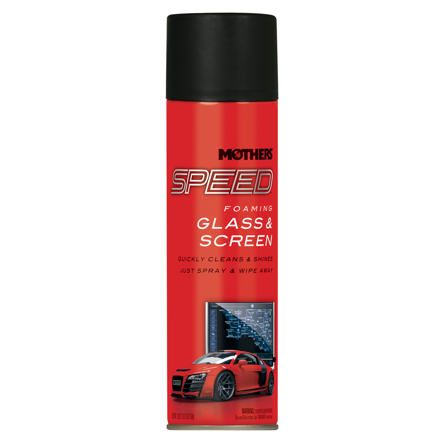 Speed Foaming Glass Cleaner 19oz. Can