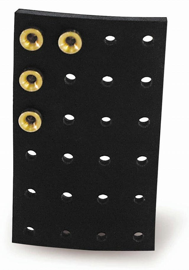 24-Hole Rubber Jet Plate