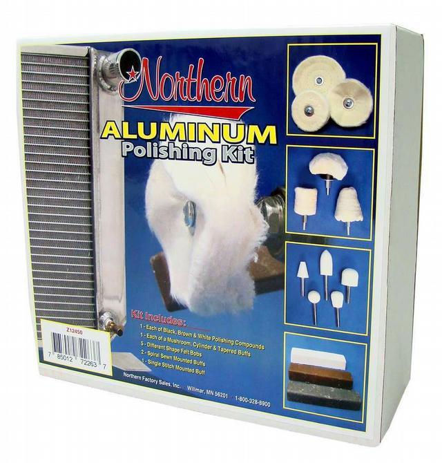 Aluminum Polishing Kit