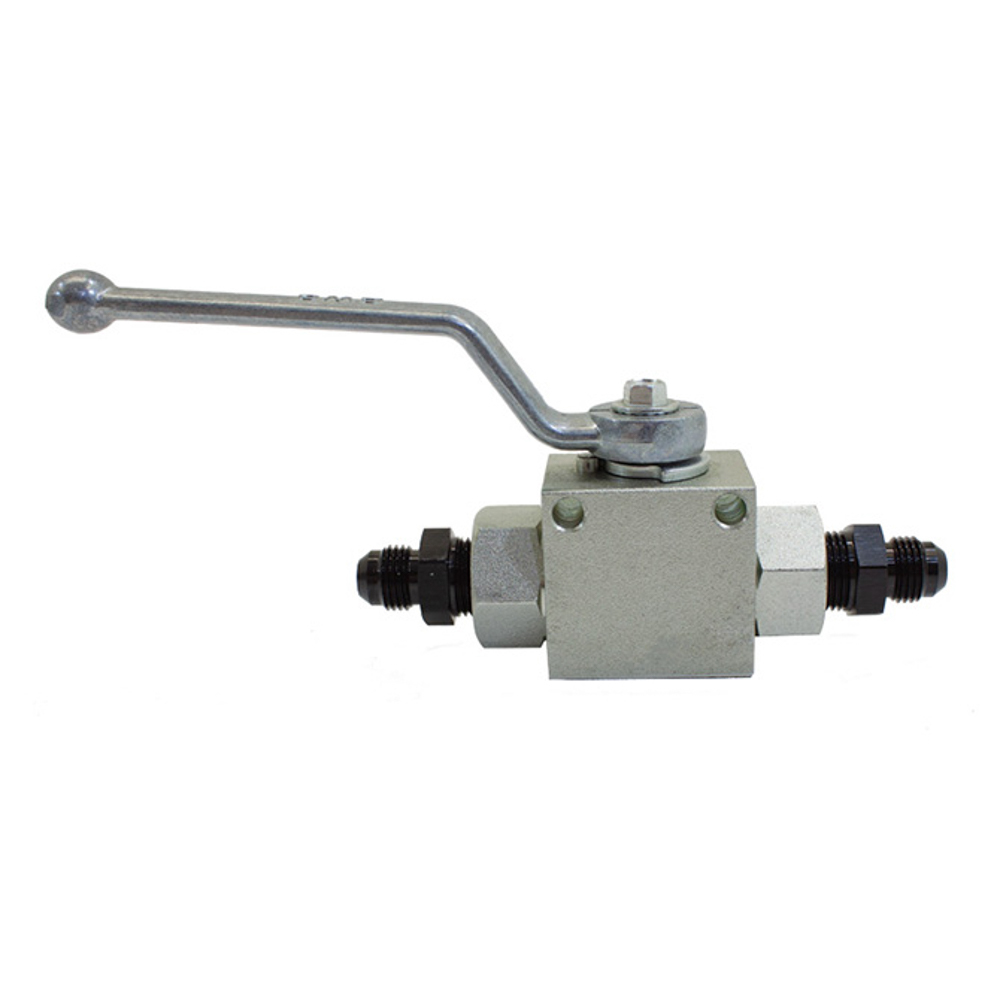 Remote Shutoff Valve 6an Male Inlet/Outlet