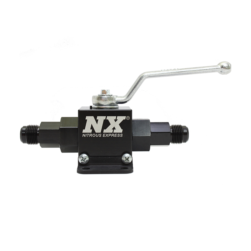 Remote Nitrous Shutoff Valve 6an Inlet/Outlet