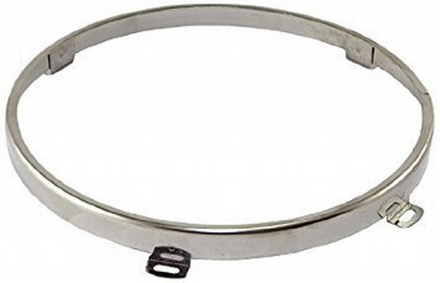 Headlight Retaining Ring ; 97-06 Jeep Wrangler TJ