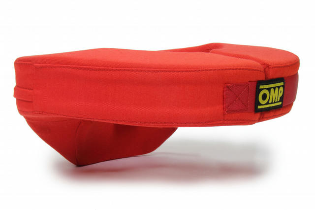 Anatomic Neck Collar In Red Nomex