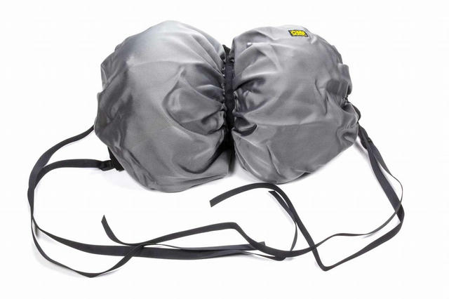 Carrying Net For Dual Helmets Black Polyester