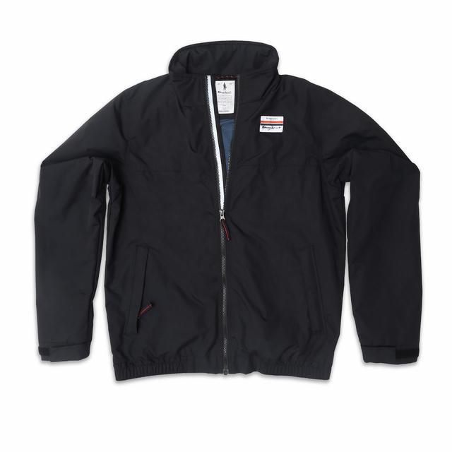Rain Jacket Racing Spirit Black M