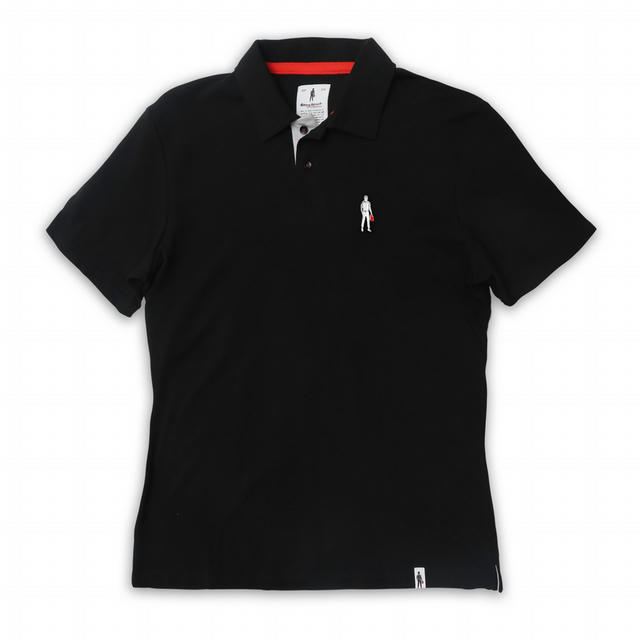 Short Sleeves Polo Driver Icon Black S