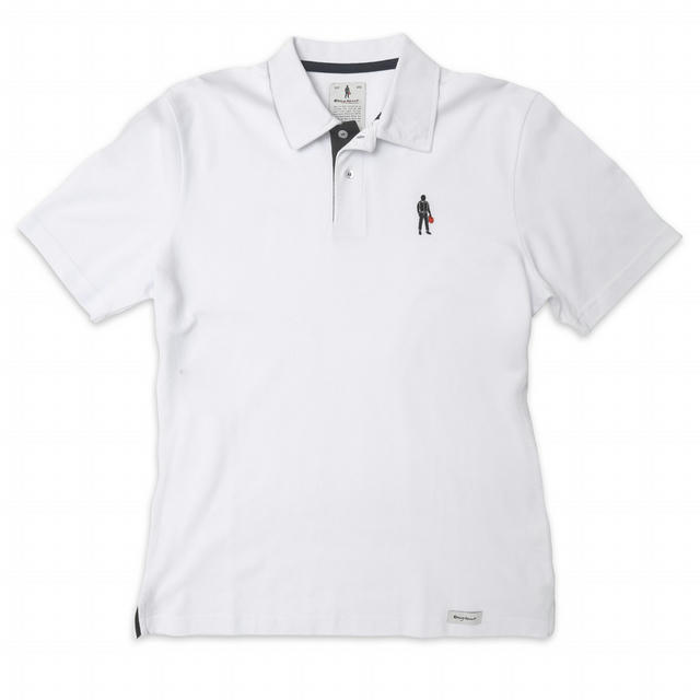Short Sleeves Polo Driver Icon White XL